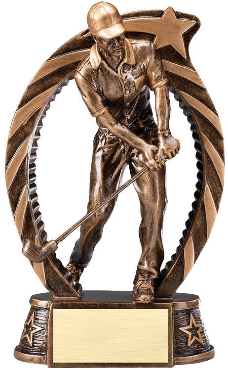 RUNNING STAR GOLF MALE RESIN