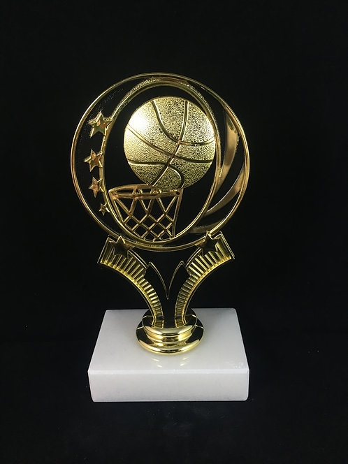 MidNite Star Basketball Gold Figure Trophy