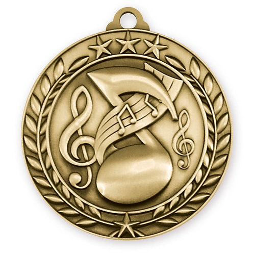 Wreath Medallion Music