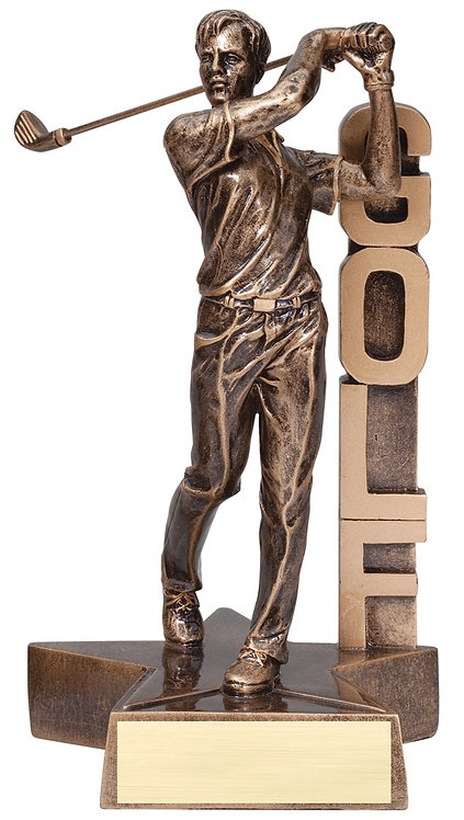 Billboard Golf Resin Trophy