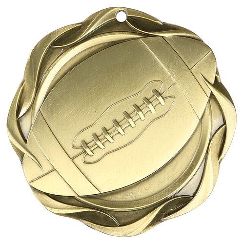 "Fusion Football Medal 3"""