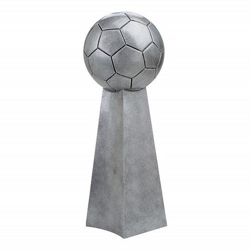 Silver Resin Soccer Championship Trophy
