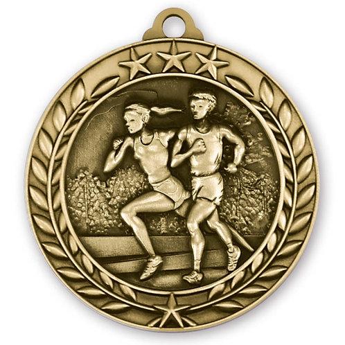 Wreath Medallion Cross Country