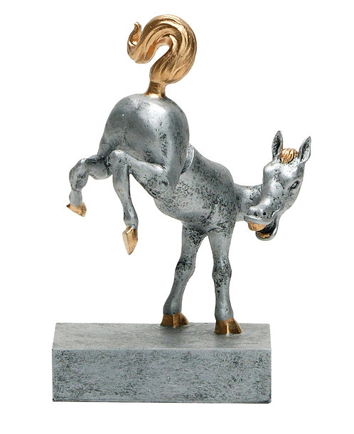 Bobble Horse Rear Resin