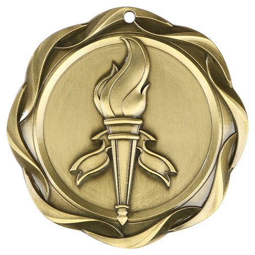 Fusion Victory Torch Medal 3""