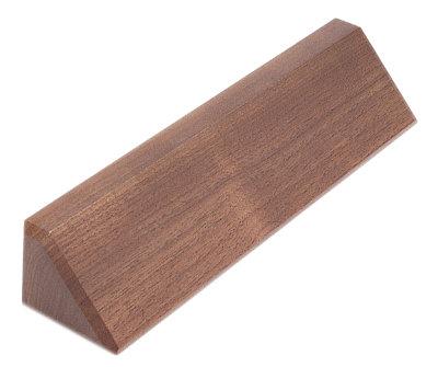 "Genuine Walnut Desk Wedge 10"""
