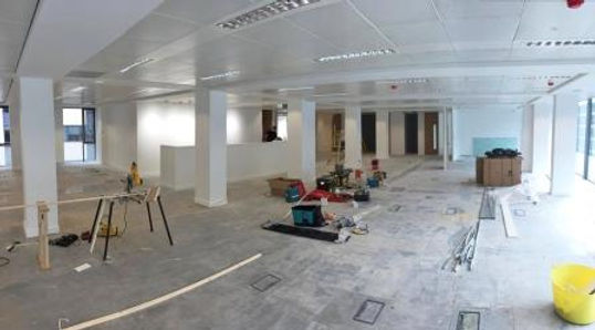 Large-pan-of-office-refurbishment-in-Man