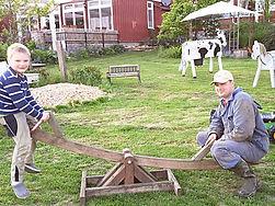Bauernhofeis Steffens Ferienwohnung