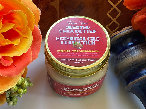 Skin Health & Anxiety Relief Scented Shea Butter