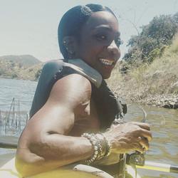 Kayaking at the Lake❤️❤️❤️#IamAblackWoma