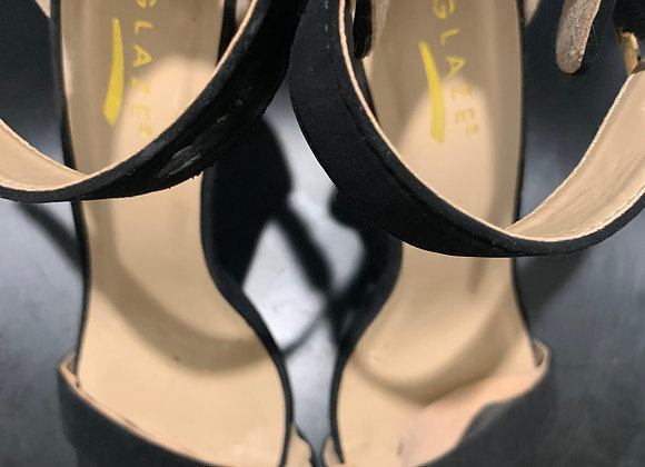 The High Heeled Strap Sandal.