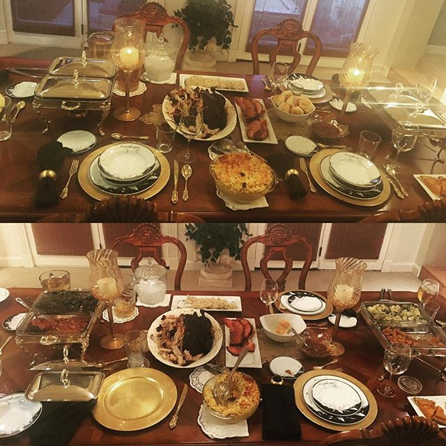 Before and After! Happy Thanksgiving🙏🏿