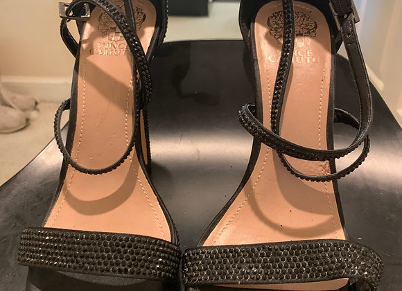 Authentic Vince Camuto High Heeled  Black Sandals