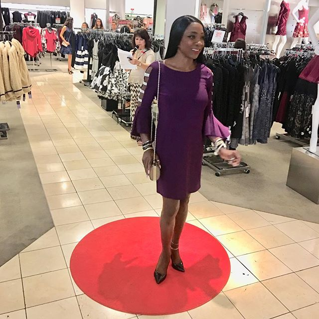 Walking the walk at _Macy'sPlazaBonita o