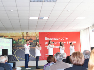 "Студия ""Артист"" на 50- летнем юбилее Музея курского железнодорожного узла (г.Курск)"