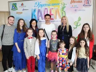 Студия «Артист» на Международном конкурсе «Хрустальная капель» в Москве