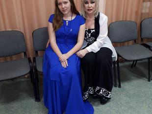 На одной сцене с легендарной певицей Татьяной Марковой - 2017