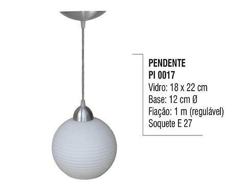 Pendente Lustre Luminária de Teto em Plástico - PI 0017