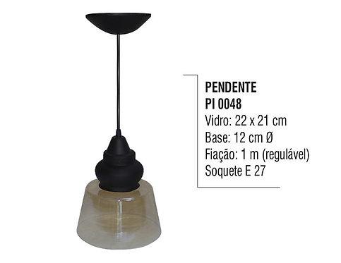 Pendente Lustre Luminária de Teto em Plástico - PI 0048