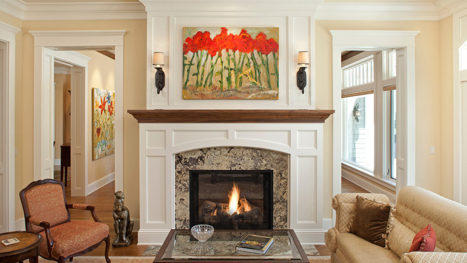 Ganashe Fireplace Surround