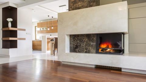 Muti-stone Fireplace Surround
