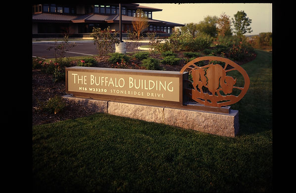 "The first Stone Dimensions building was named ""The Buffalo Building"" which holds a lot of symbolism for the Stone Dimensions family with it's buffalo logo."
