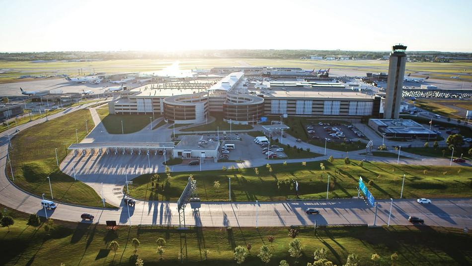 Milwaukee's General Mitchell Airport in Milwaukee Wisconsin
