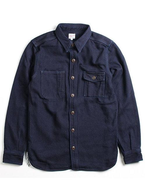 05-162 Indigo Heavy Dobby Shirt