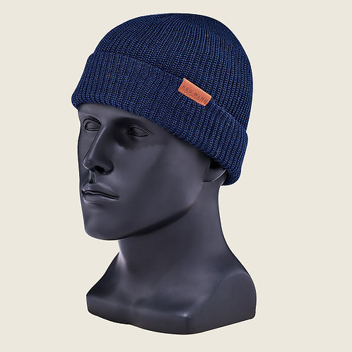 Merino Knit Cap Beanie Blue 97490