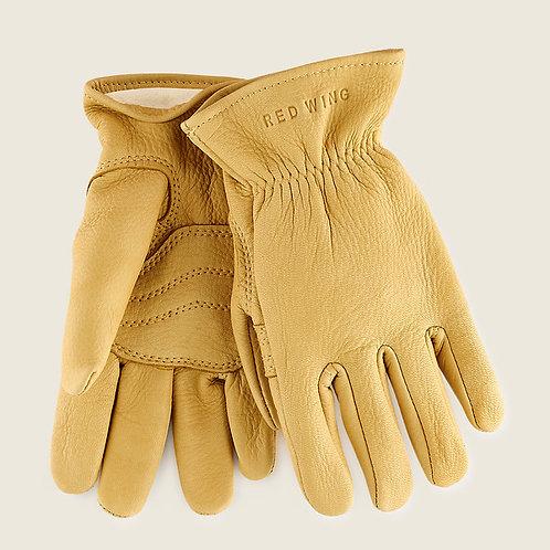 Gloves Yellow Lined Buckskin 95237