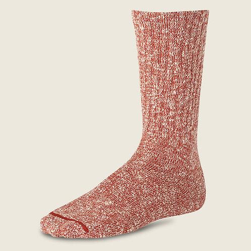 Cotton Ragg Socks Rust 97169