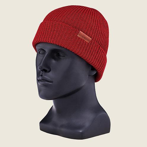 Merino Knit Cap Beanie Red 97493