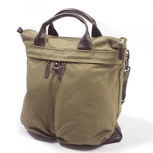 Sac Pilote Buddy Canvas Kaki