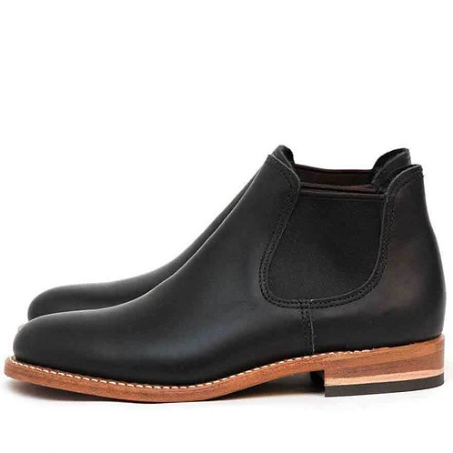 Carol Women Short Boot Black 3461