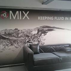 Indoor wallpaper print