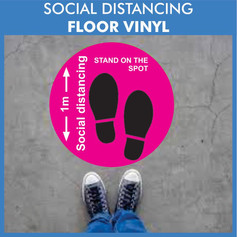 Social distancing markers