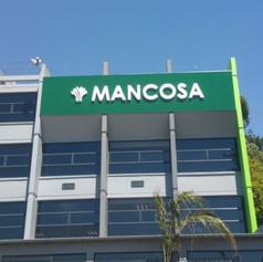 Mancosa 3D sign