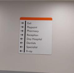 Indoor directional board