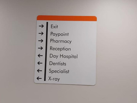 Great Quality Indoor Signage