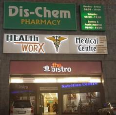 HealthWorx sign