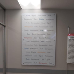 Values board