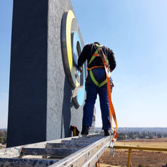 At height installation
