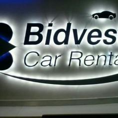 Bidvest indoor sign