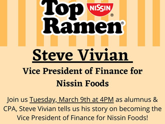 Vice President of Finance & Accounting for Nissin Foods