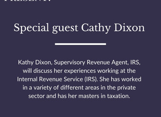 Chat with Kathy Dixon!