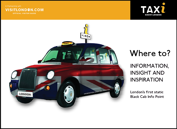 TAXi Leaflet Guide Front Cover