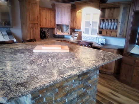 Rapid City South Dakota cabinet granite remodel