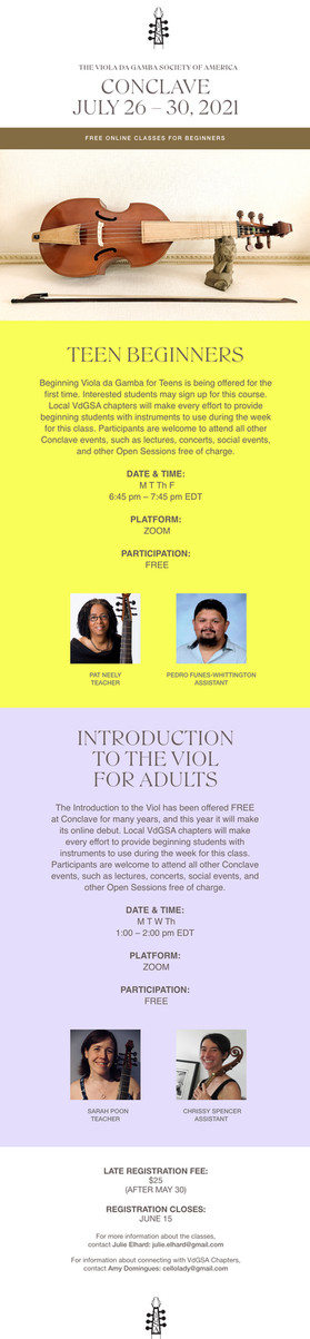 New Teen Beginners' Class at Conclave