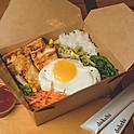 TOFU BIBIMBAP 두부 비빔밥