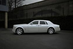 Rolls Royce Phantom - White